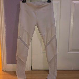 Electric Yoga White Mesh Leggings